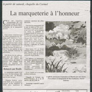 Expo Bois Guillaume - 2003