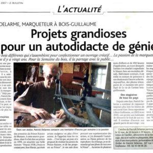 Le Bulletin - mai 2007