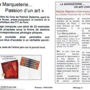 Mensuel La Poste Seine-Martime - 1998