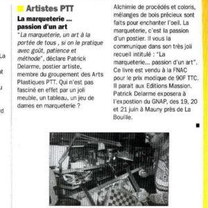 Mensuel Postes Seine-Maritime - 1998