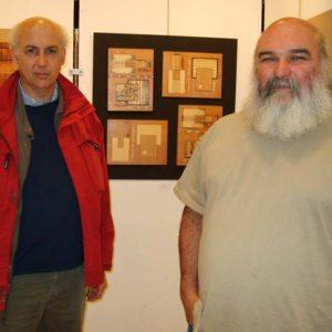 Avec Robert Pinard