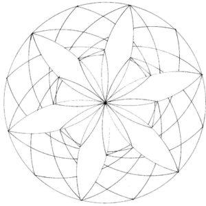 KIT PAPIER - Composition géométrique N°1