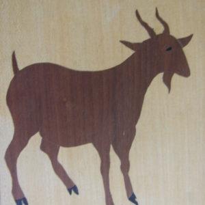 KIT PAPIER - La chèvre