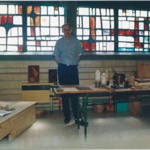l'artiste en 1989