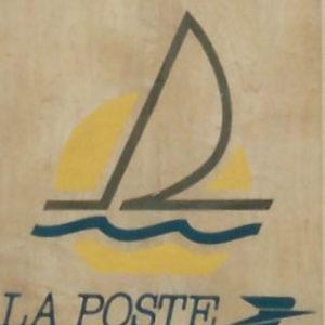 logo bateau la poste