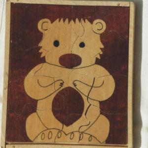 puzzle l'ourson 2
