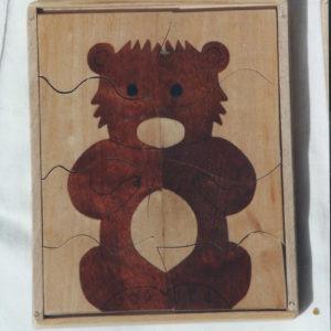 puzzle l'ourson