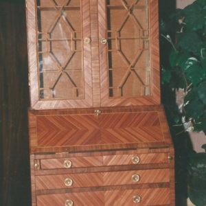scriban bois de rose hauteur 80 cm