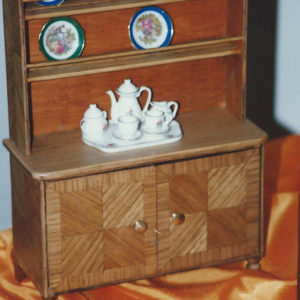 vaisselier miniature